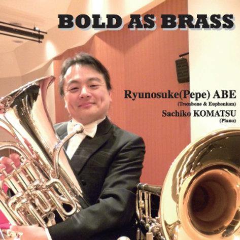 CD - BOLD AS BRASS(ボールド・アズ・ブラス) - CD