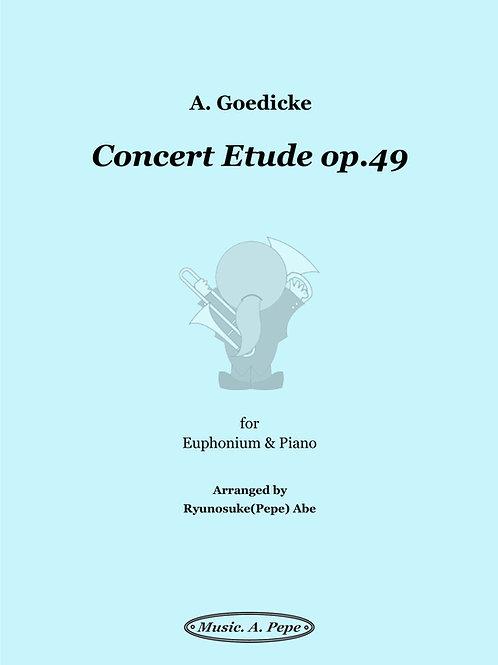 コンサート・エチュード op.49 (A.Goedicke) / Concert Etude op.49