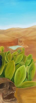 Klimawandel, óleo sobre lienzo, 100x100