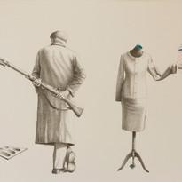 Zoran Petrušić - DIGITAL CLOUD(52 cm