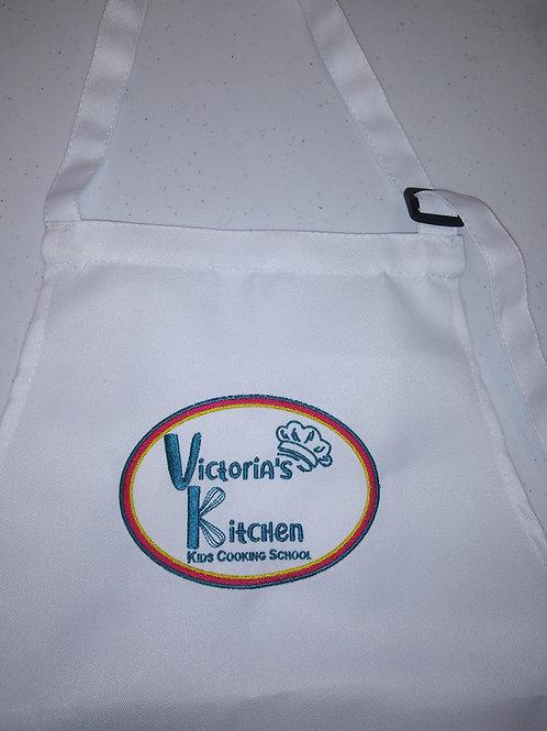 Victoria's Little Chef Toddler/Preschooler Logo Apron & Chef Hat!