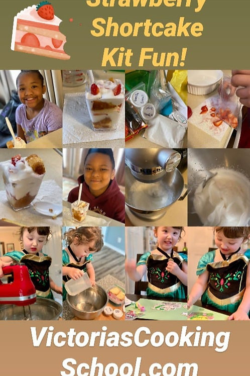 Strawberry Shortcake Trifle Kit (Ages 2 & Up)