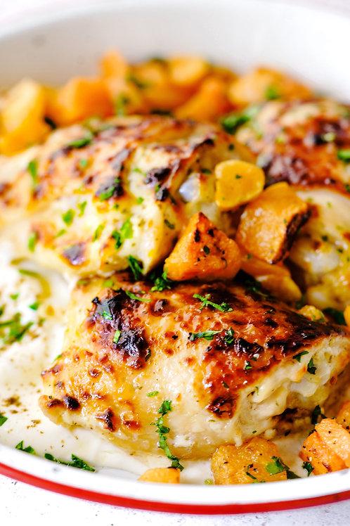 Family Meal Kit: Italian Marinated Chicken & Veggie Surprise Bake