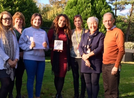 Carer of the Month - October 2019