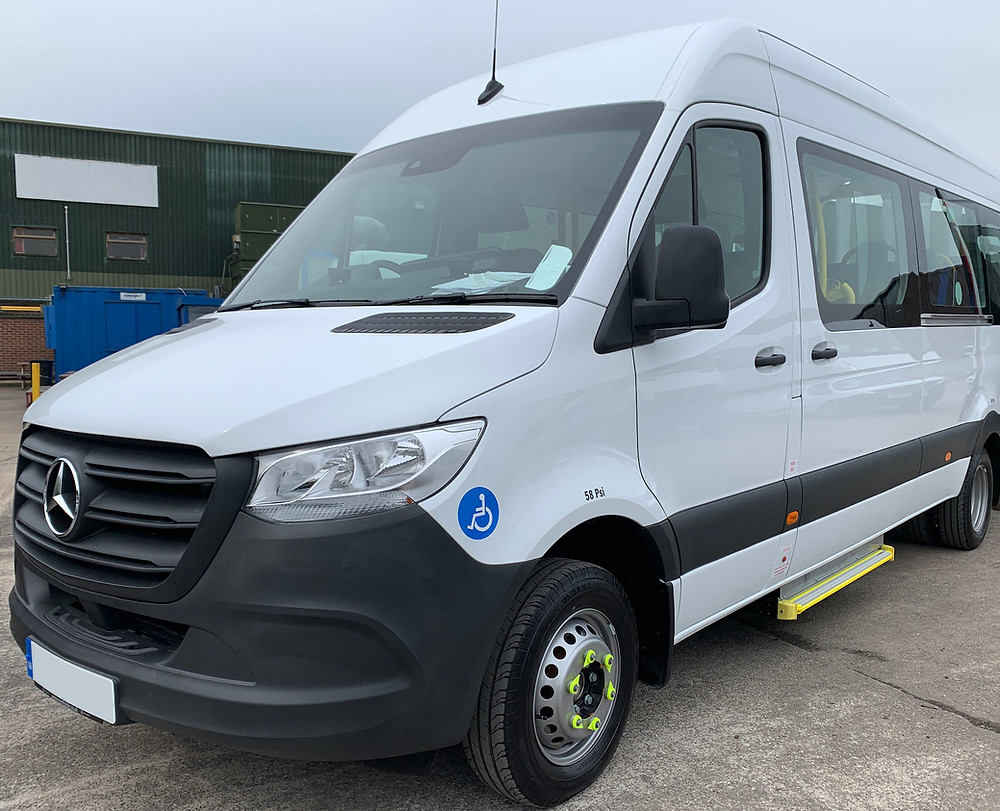 Treka minibus built on Mercedes Sprinter
