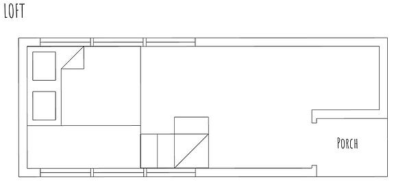 Ronja loft with porch