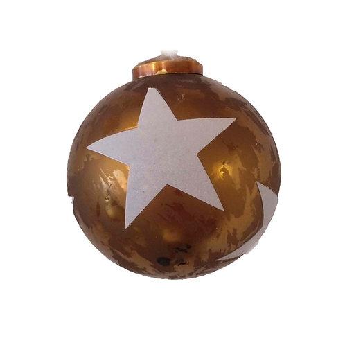 Bola estrella white