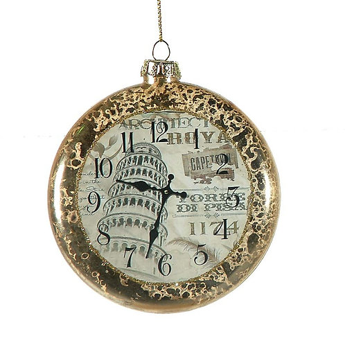 Bola plana reloj