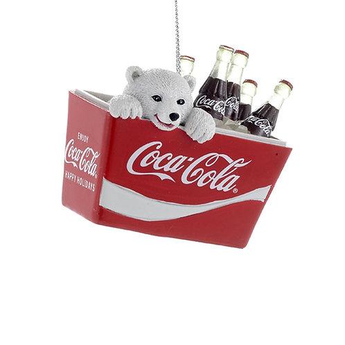 Osito en nevera Coca-Cola