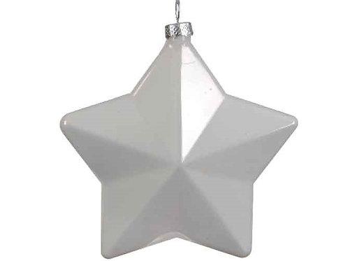 Pack 2 estrellas blancas cristal