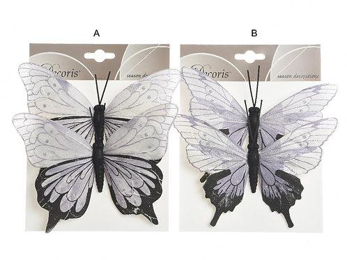 Set 2 mariposas surtidas
