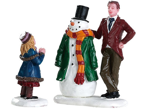 Dad's snowman