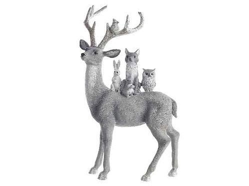 Figura reno con animales