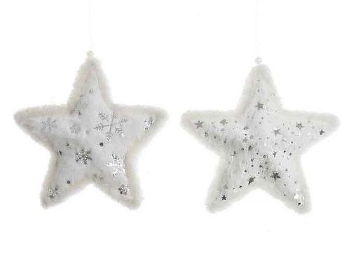 Estrella white felpa surtida