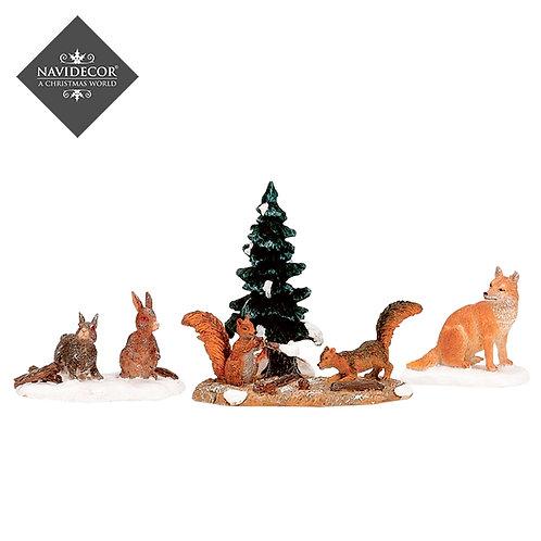 Animales de bosque