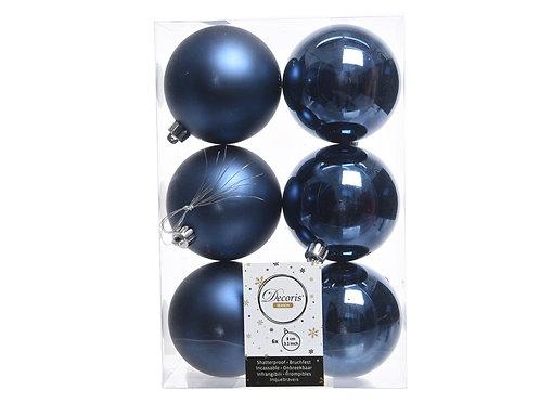 Pack 6 bolas night blue