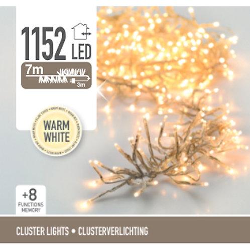 Cluster 1152 Leds transparente