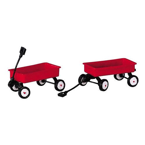 Set 2 carros rojos
