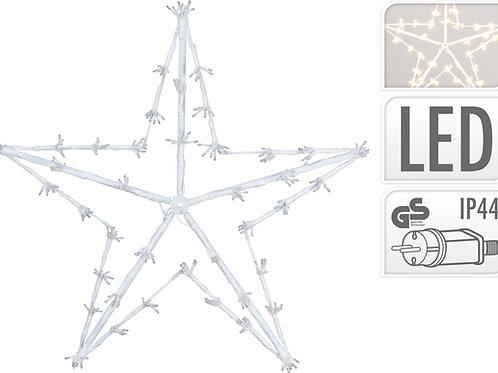 ESTRELLA 80 CM 320 LEDS LUZ CALIDA