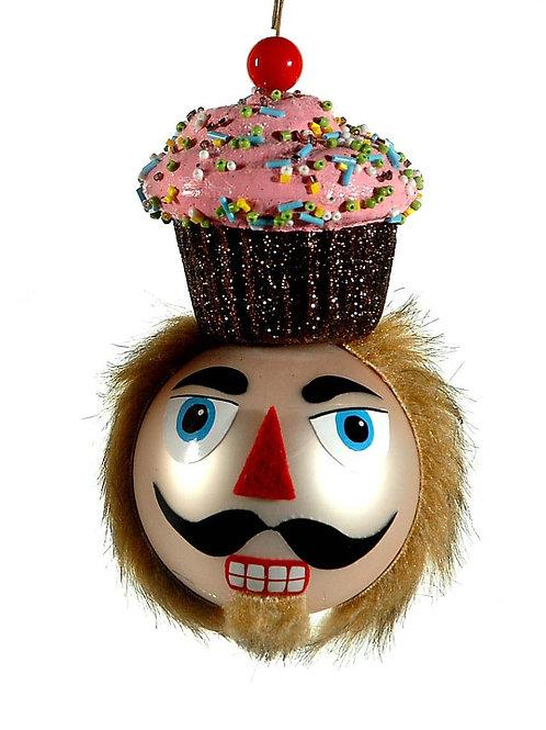 Bola cascanueces cupcake