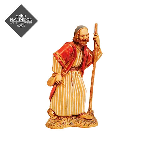 Pastor con bastón
