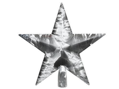 Estrella punta árbol ice laquer