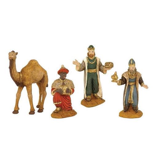 Oliver Reyes Magos con Camello 8cm