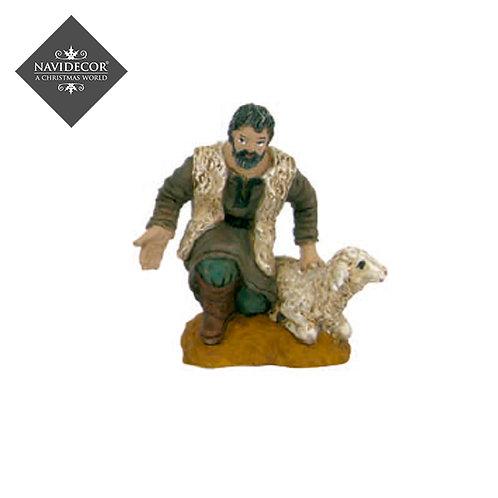 Oliver Pastor con oveja 8cm