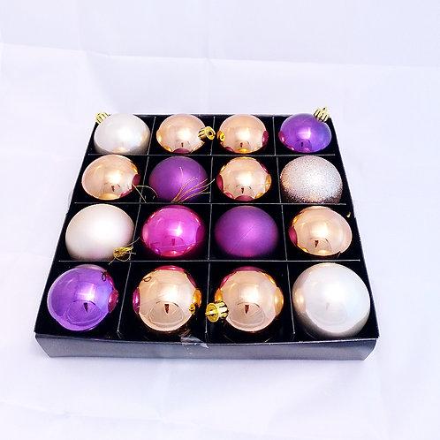 Pack 16 bolas surtidas violeta