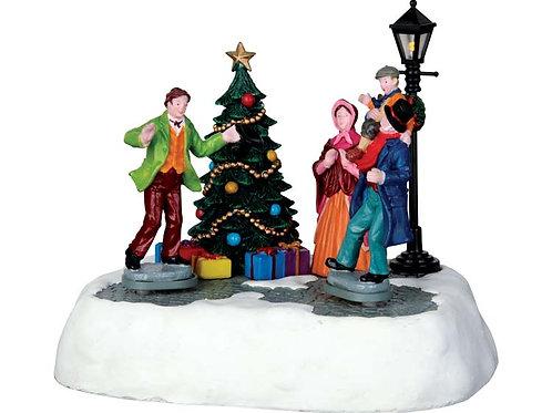 Escena Happy Christmas Mr. Scrooge