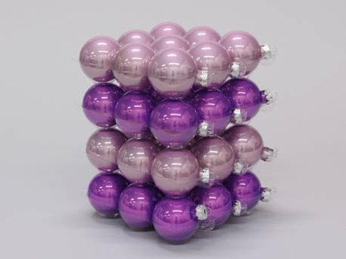 Pack bolas lilas surtidas