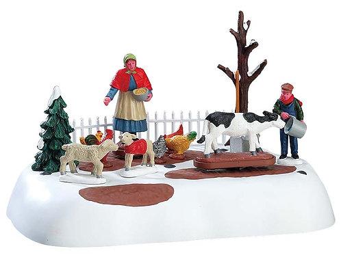 Tareas granja de invierno