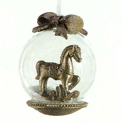 Bola lazo caballo