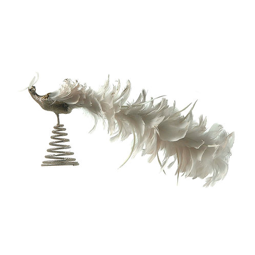 Pájaro plumas para copa árbol