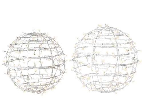 Set 2 esferas Led con flash