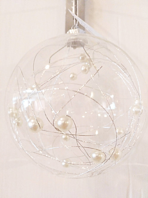 Bola perla blanca