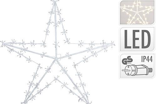 ESTRELLA 120 CM 400 LEDS LUZ CALIDA