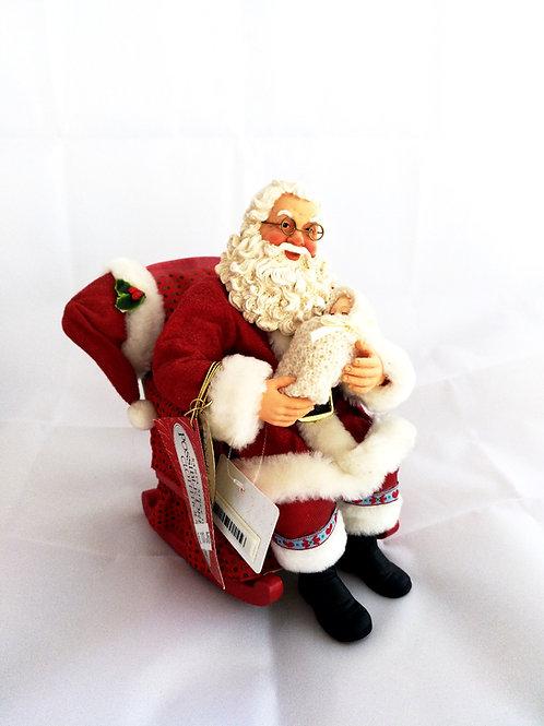 Papa Noel con bebe