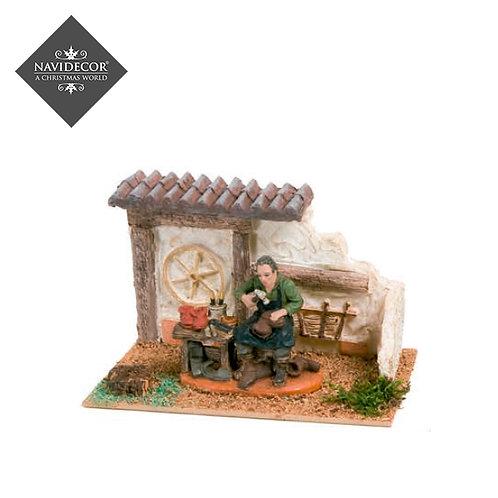 Escena casa zapatero Oliver 8cm