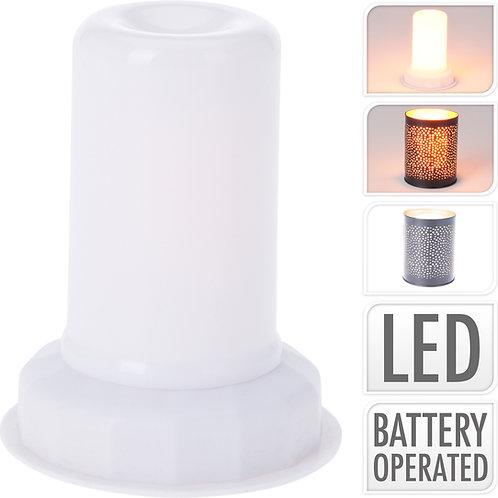 LAMPARA EFECTO LLAMA 12 LEDS