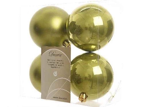 Pack 4 bolas verde oliva