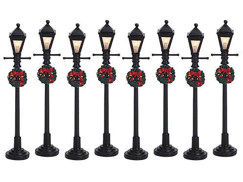 Gas lantern street lamp 8