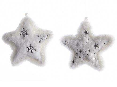 Set 2 estrellas plush