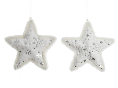Set 2 estrellas white surtidas