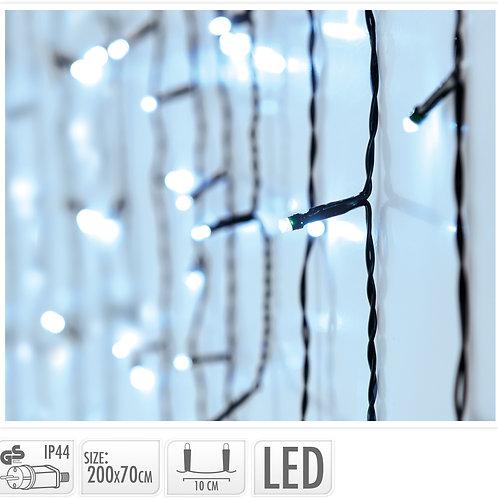 CORTINA 270 LED 200X70 CM