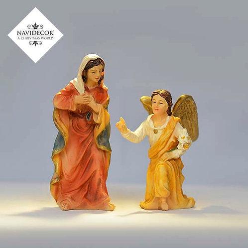 Maria y ángel