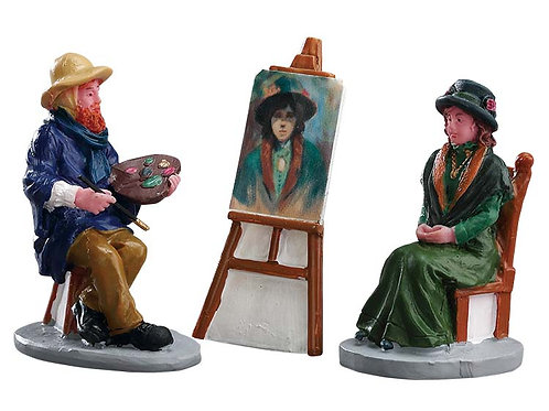 Pintando autoretrato