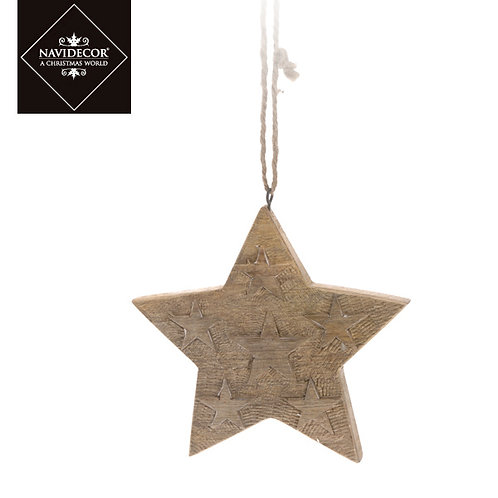 Estrella madera