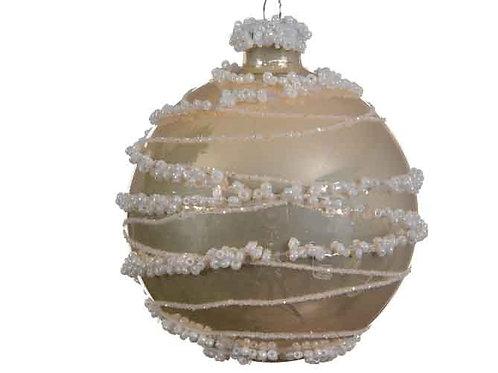 Pack 3 bolas crema linea perlas