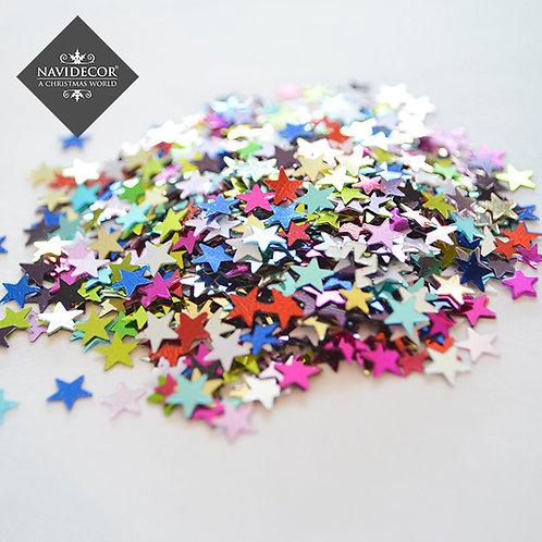 Estrellitas metalizadas multicolor
